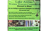 Lake Atitlan – Women Weavers Cooperative, San Pedro Atitlan – Guatemala